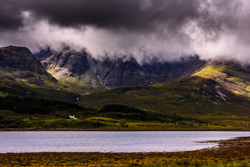 This photo was shot during a research trip to Isle of Skye in Scotland August/September 2015.