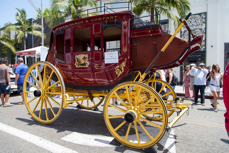 1908 Wells Fargo Wagon
