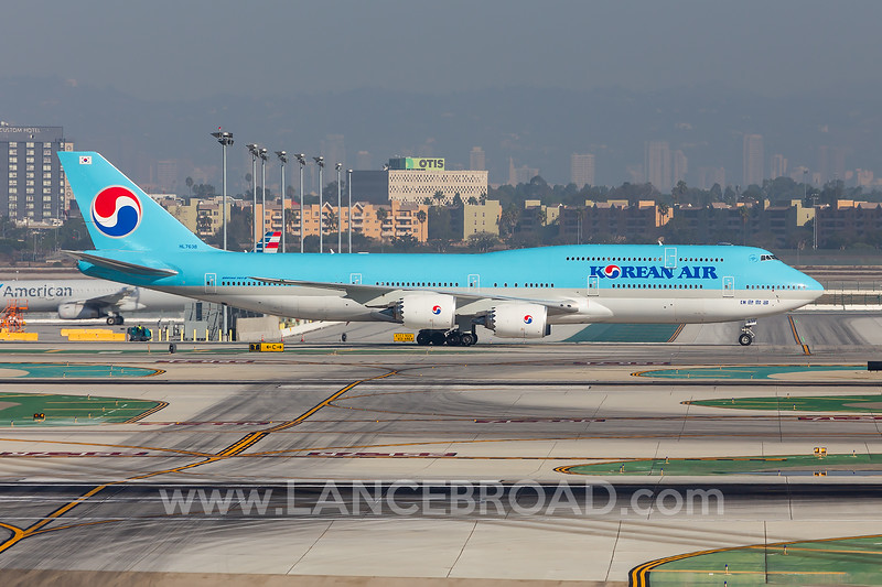 Korean Air 747-8 - HL7638 - LAX