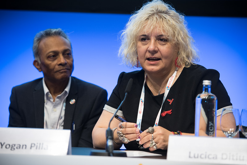 22nd International AIDS Conference (AIDS 2018) Amsterdam, Netherlands   Copyright: Marcus Rose/IAS  Photo shows: TB 2018: Bridging the TB and HIV Communities. Lucica Ditiu, Stop TB Partnership, Switzerland.