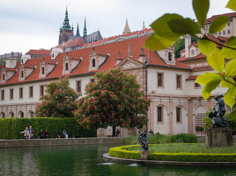 "Prague: Mala Strana (""Lesser Town""): The Wallenstein Gardens"