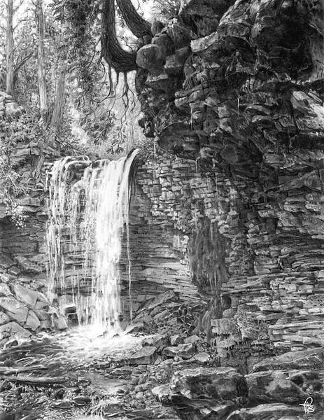 HILTON FALLS (graphite)