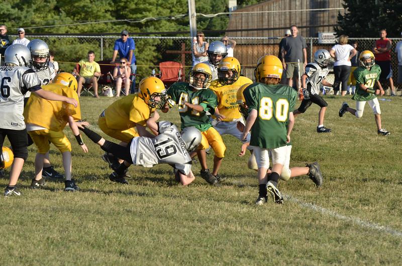 Wildcats vs Raiders Scrimmage 146.JPG