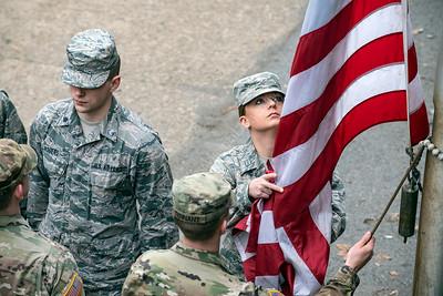 35382 Final Flag Retreat Ceremony