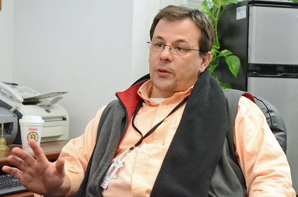 Nicholas Formaggia, of Spanish American Center