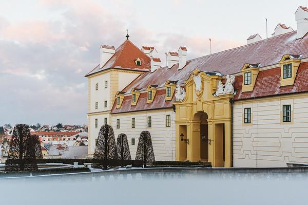 Zamek Valtice :: Zimni zamek a Belveder 2021 HD