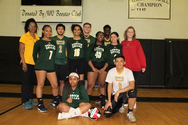 SV Coed Volleyball vs. Northwest HS  4-8-2018