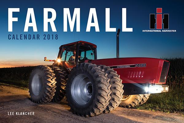 Farmall Tractors Calendar 2018