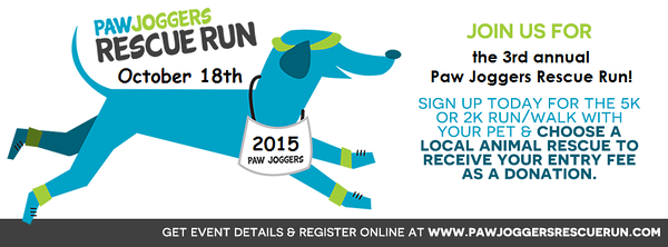 Paw Joggers Rescue Run 2015
