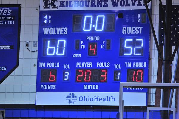 WKHS Boys JV Basketball vs. Olentangy