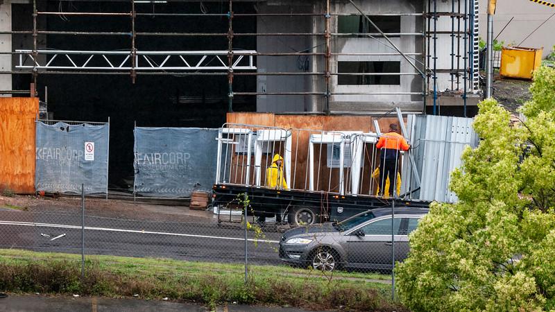 Building progress 139d. At 47 Beane St. Gosford. October 2018.