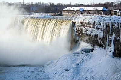 Youth;Ice;Waterfall