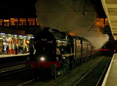 West Coast Railways (WCRC), 2009: Steam