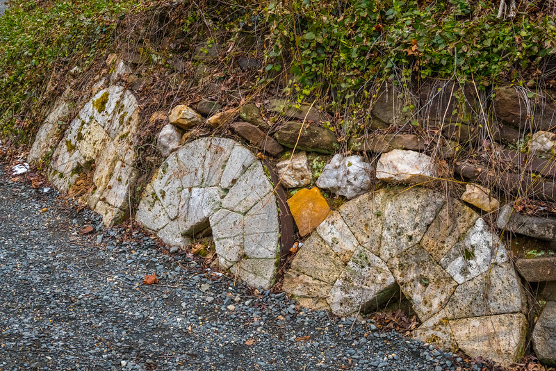 Discarded Mill Stones
