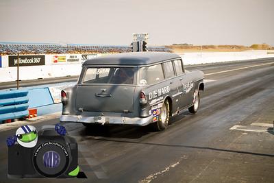 Grey Die Hard Wagon