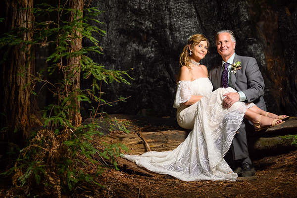 Evelyn and Charlie Elopement @ Redwood Forest in Boulder Creek, California