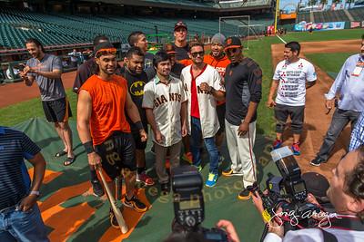 2014 Pacquiao-Algieri with the SF Giants