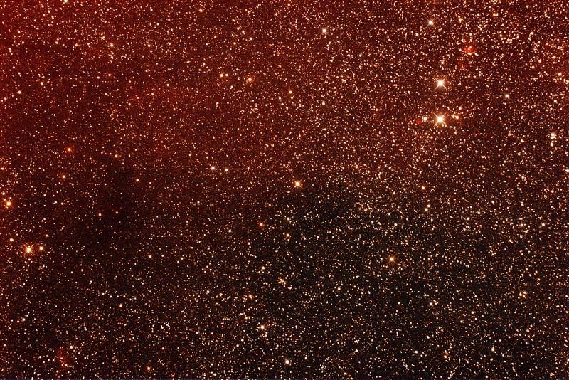 Gum 43, 44 & 45 Nebulae  - 1/3/2014 (Processed stack)