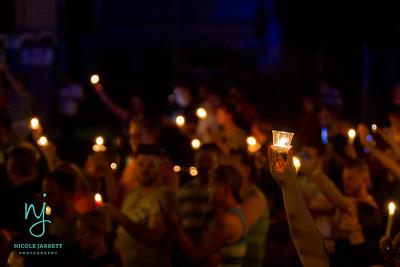 Pulse Nightclub Massacre Vigil St Louis
