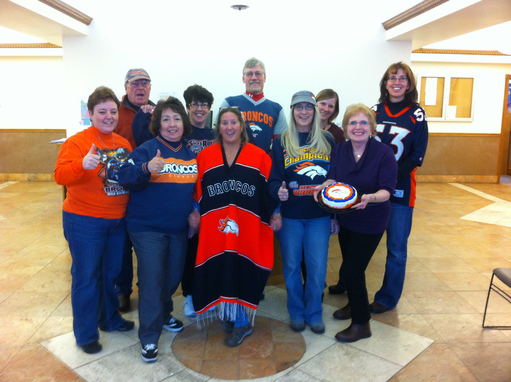 . Go Broncos!  Gunnison County Staff Bronco Fan Club!  Rich Wojdakowski