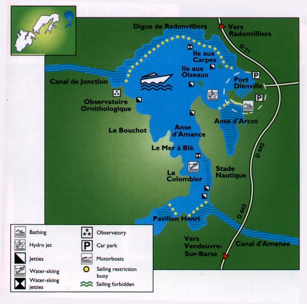 WCC01-venue-Amance - pic 1 - Map of the lake