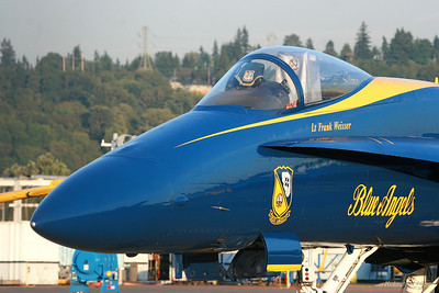 Blue Angels (Parked)