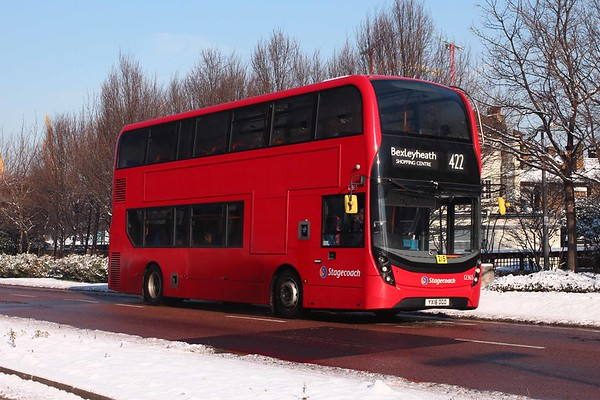 Buses in the Snow 2018