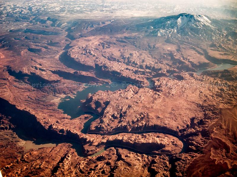 San Juan River with Navajo Mountain