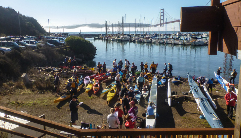 50 kayaks plus the long boaters plus and IDW.