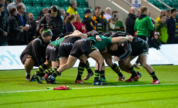 Northampton Saints vs Exeter Chiefs, Gallagher Premiership, Franklin's Gardens, 28 December 2018