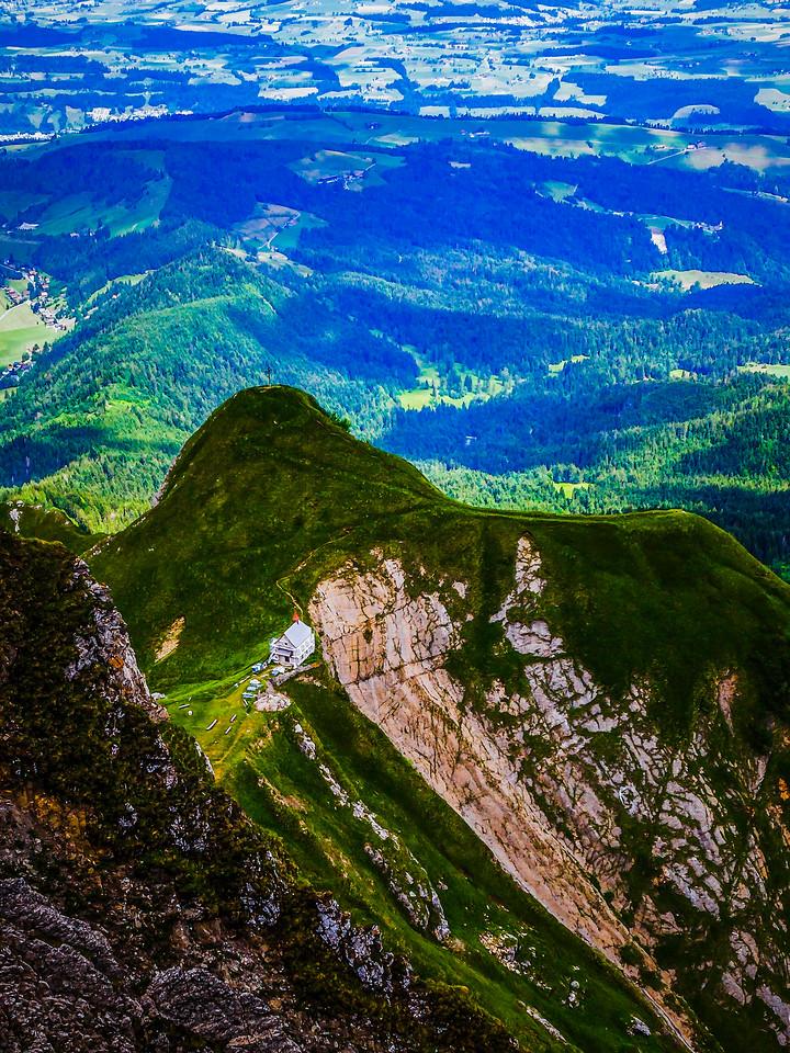 瑞士卢塞恩(Lucerne),登顶瞭望