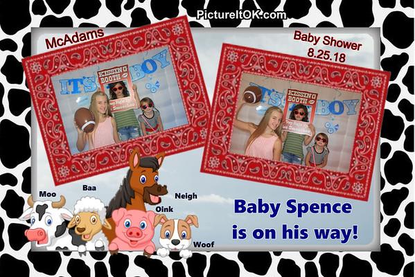 McAdams Baby Shower Prints