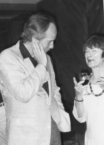 Richard Ford, Olga Carlisle.