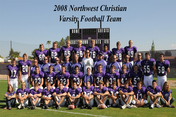 2008 - Football - Varsity Team Pics