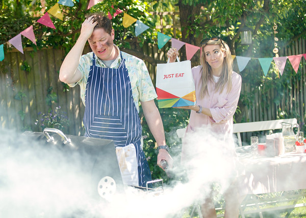 22/5/19 - Just Eat launch new BBQ Rescue Service