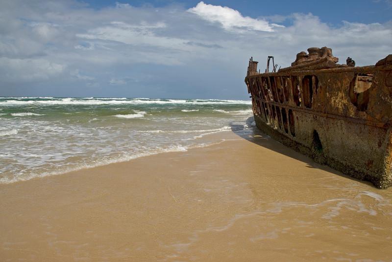 Shipwreck 3, Fraser Island - Queensland, Australia