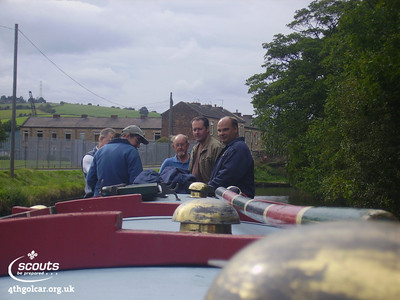 September - Canal Boat Trip
