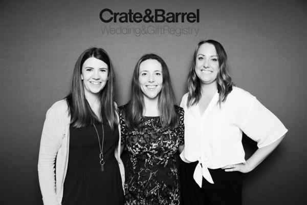 CRATE & BARREL BRIDAL REGISTRY 2018