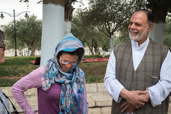 2019-05-02 Meeting with Imam on Temple Mount