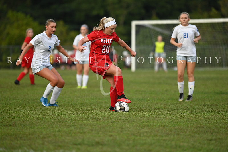 09/13/2021 Belfry Girls Soccer vs Lawrence County