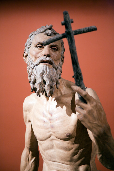 St. Jerome (Hieronymus), sculpture by Pietro Torrigiano (1525),  Fine Arts Museum, Seville, Spain