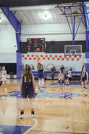 All Saints Episcopal School Women's Basketball vs Cypress Christian School by Travis Tapley