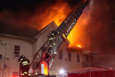 Lawrence, MA - 5th Alarm +. 34 Saratoga Street, 4-4-21.