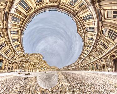 Louvre Cour Carrée (Corner)