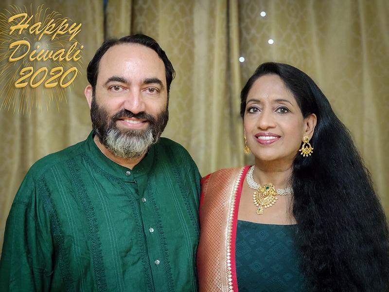Wishing everyone A Very Happy Diwali (Deepavali) from Anu and Suchit Nanda, 2020.