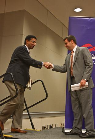 YAF hosts Dinesh D'Souza