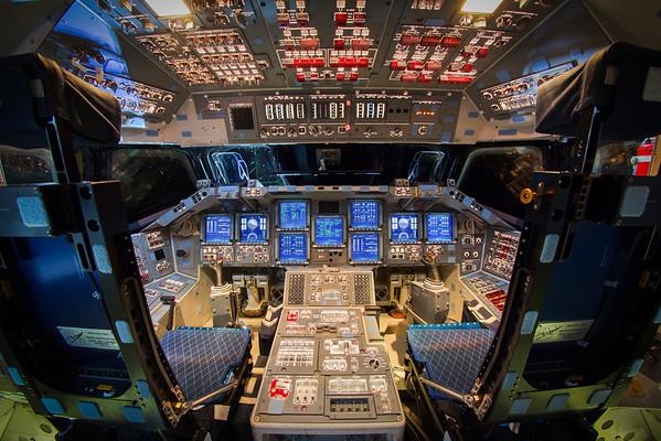 Endeavour Powered Flight Deck