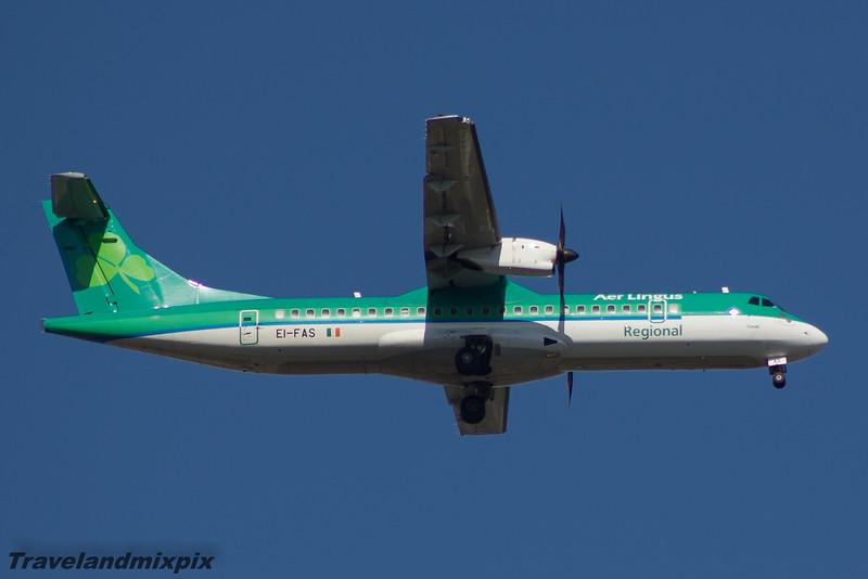 EI-FAS Aer Lingus Regional (Stobart Air) ATR 72-600 Glasgow Airport 18/04/2015