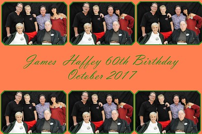 James Haffey 60th Birthday Photobooth