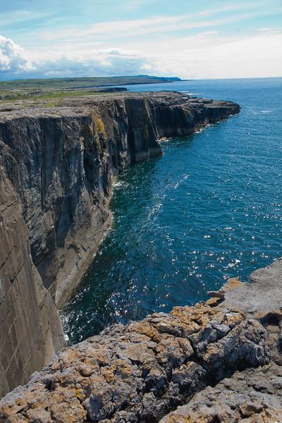 Cliffs of Moher (over 700 feet high)